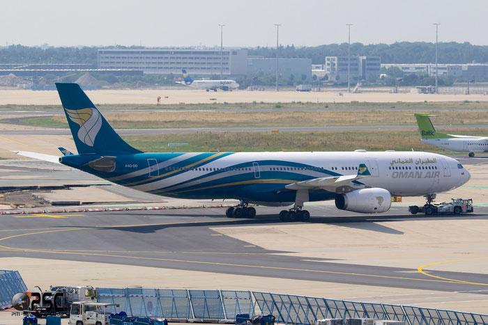 A4O-DD A330-343E 1063 Oman Air @ Frankfurt Airport 25.07.2014 © Piti Spotter Club Verona