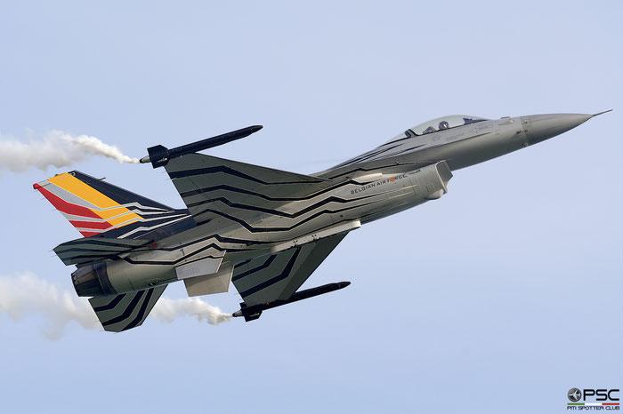 FA123   F-16AM  6H-123  10w © Piti Spotter Club Verona