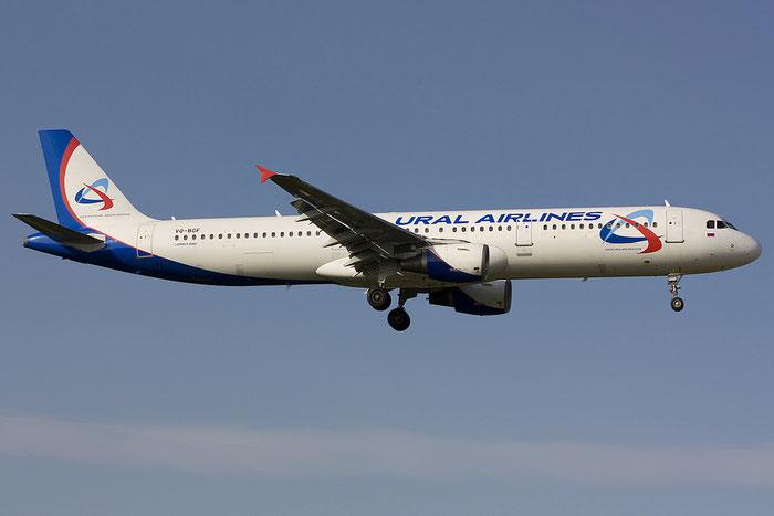 VQ-BOF A321-211 775 Ural Airlines @ Rimini Airport 21.07.2012 © Piti Spotter Club Verona