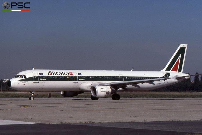 I-BIXA A321-112 477 Alitalia © 2018 courtesy of Marco Ceschi - Piti Spotter Club Verona