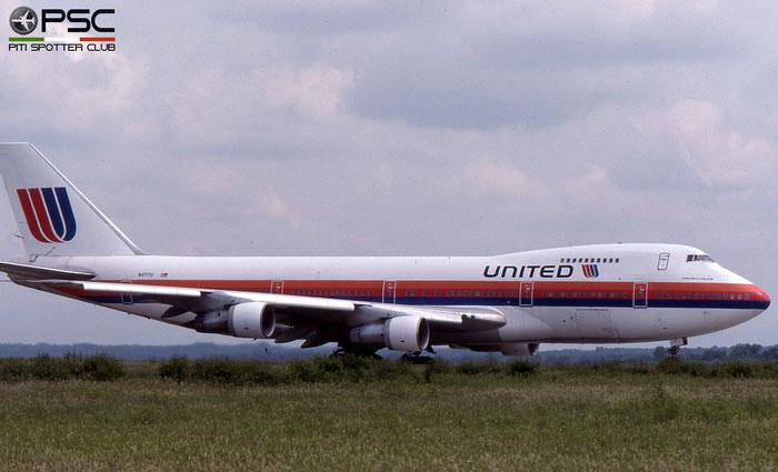 N4717U B747-122 19878/101 United Airlines © 2018 courtesy of Marco Ceschi - Piti Spotter Club Verona