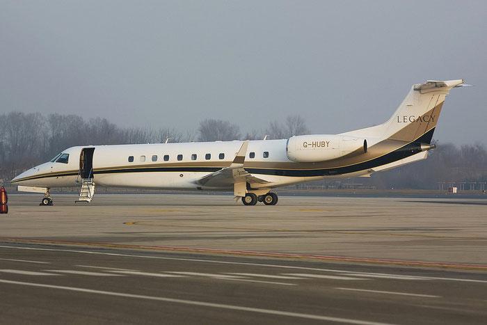 G-HUBY ERJ135BJ 14500854 London Executive Aviation @ Treviso Airport 22.01.2012 © Piti Spotter Club Verona