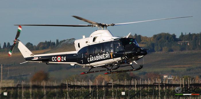 MM81447  CC-24  AB412HP   8° Nucleo Elic @ Aeroporto di Verona   © Piti Spotter Club Verona