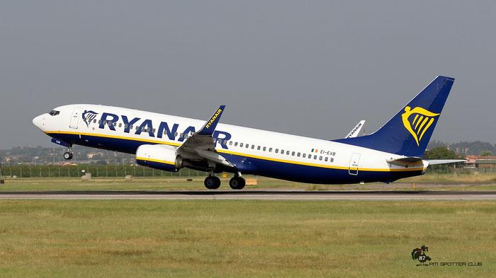 EI-EVB  B737-8AS  34982/3886  Ryanair  @ Aeroporto di Verona 08.2020  © Piti Spotter Club Verona