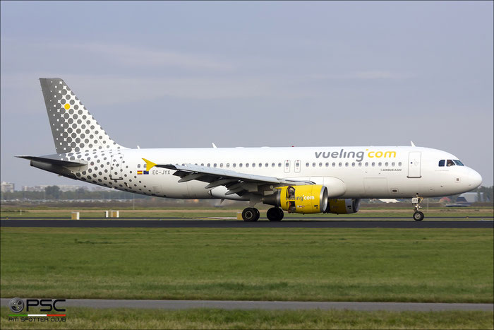 EC-JYX A320-214 2962 Vueling Airlines @ Amsterdam Airport 09.2013 © Piti Spotter Club Verona