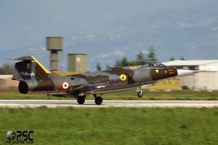 Gli F-104 del Terzo Stormo: 3-41 -  @ Aeroporto di Verona   © Piti Spotter Club Verona