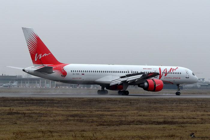 RA-73016 B757-230 26433/521 VIM Airlines @ Aeroporto di Verona 16.02.2017  © Piti Spotter Club Verona