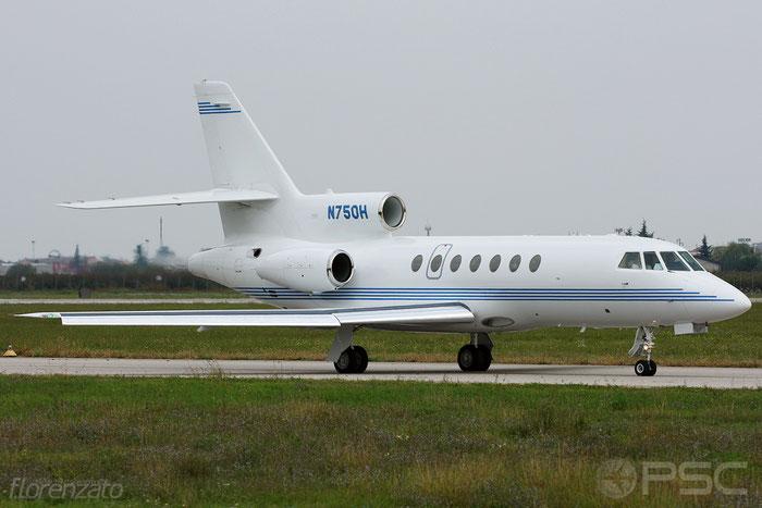 N750H Falcon 50-40 171 White Lodging Services @ Aeroporto di Verona 2009  © Piti Spotter Club Verona