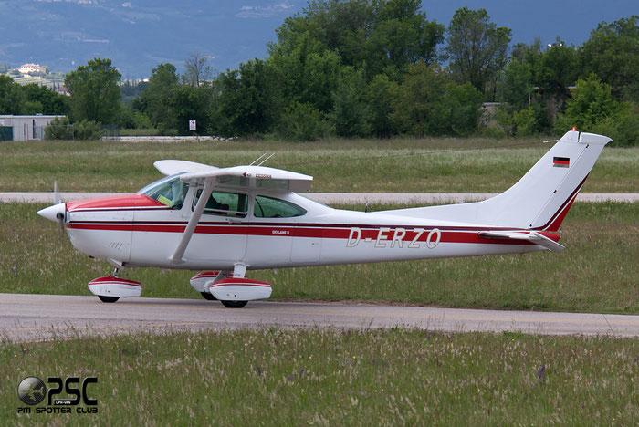 D-ERZO Cessna T182T Turbo Skyline C182 @ Aeroporto Verona Boscomantico © Piti Spotter Club Verona