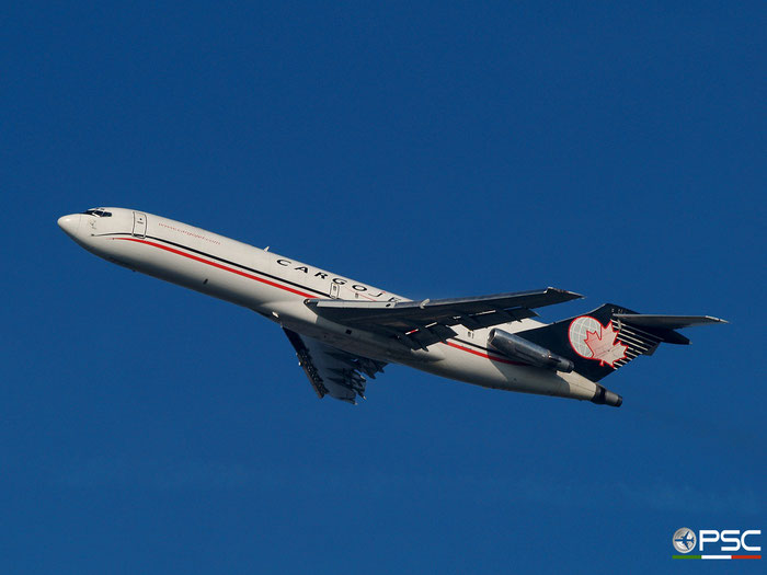 C-GCJQ B727-225F 22437/1682 Cargojet Airways @ Newark Airport 24.09.2009 © Piti Spotter Club Verona