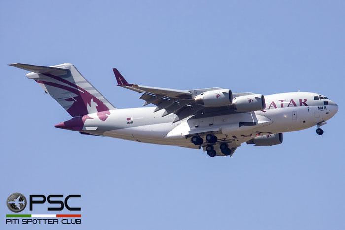 A7-MAB  MAB  C-17A  50210/F209/QA2  10sq © Piti Spotter Club Verona