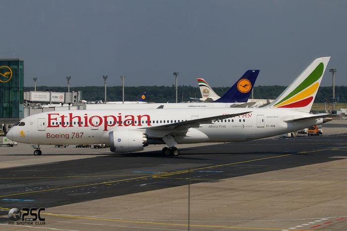 ET-AOQ B787-8 34745/49 Ethiopian Airlines @ Frankfurt Airport 25.07.2014 © Piti Spotter Club Verona