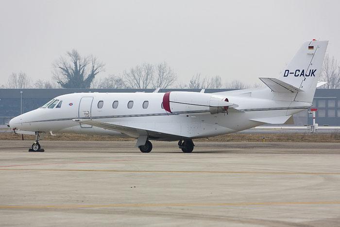 D-CAJK Ce560XLS 560-5670 Fairjets @ Treviso Airport 19.02.2012 © Piti Spotter Club Verona