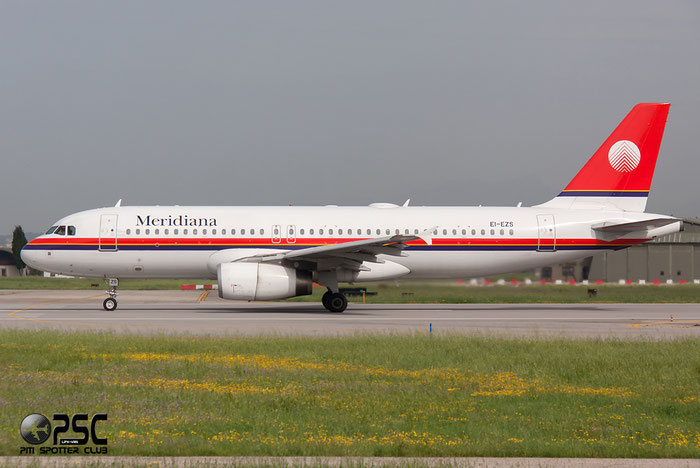 EI-EZS  A320-232  1823  Meridiana @ Aeroporto di Verona © Piti Spotter Club Verona