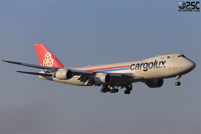 LX-VCI B747-8R7F 35822/1478 Cargolux @ Milano Malpensa Airport 24.04.2014 © Piti Spotter Club Verona