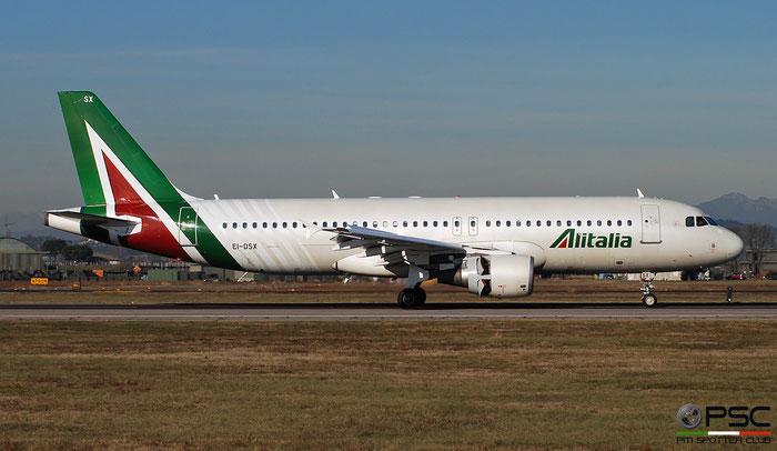EI-DSX A320-216 3643 Alitalia @ Aeroporto di Verona 01.2019  © Piti Spotter Club Verona