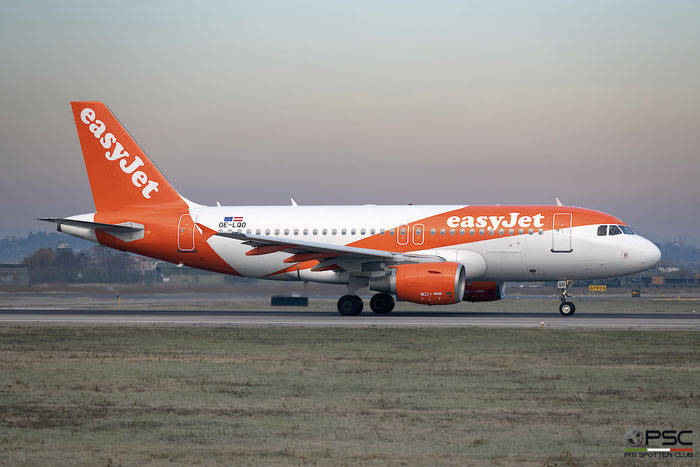 OE-LQO A319-111 3754 easyJet Europe @ Aeroporto di Verona 05.01.2019  © Piti Spotter Club Verona