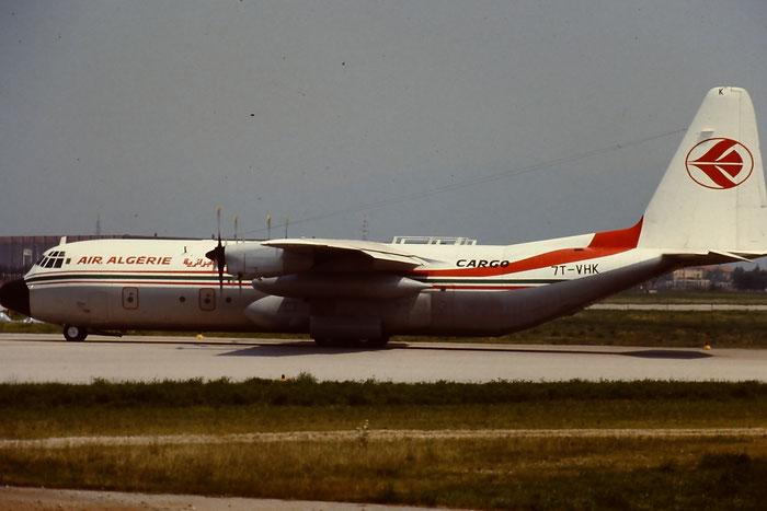 7T-VHK Lockheed L-100-30 Hercules (L-382G) - @ Aeroporto di Verona © Piti Spotter Club Verona