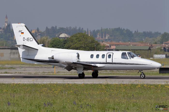 D-IECI Cessna 500/501 @ Aeroporto di Verona 22.04.2017  © Piti Spotter Club Verona