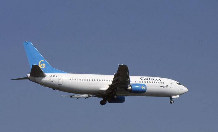 SX-BFA  B737-4Q8  26300/2604  Galaxy Airways  @ Aeroporto di Verona © Piti Spotter Club Verona