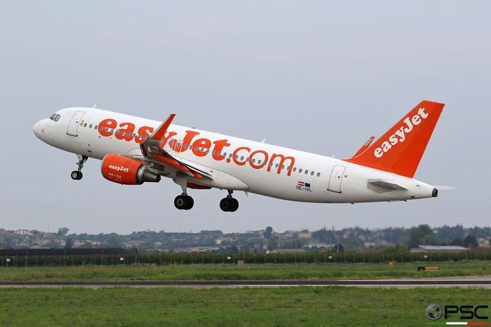 OE-IVL A320-214 6188 easyJet Europe @ Aeroporto di Verona 08.2019  © Piti Spotter Club Verona