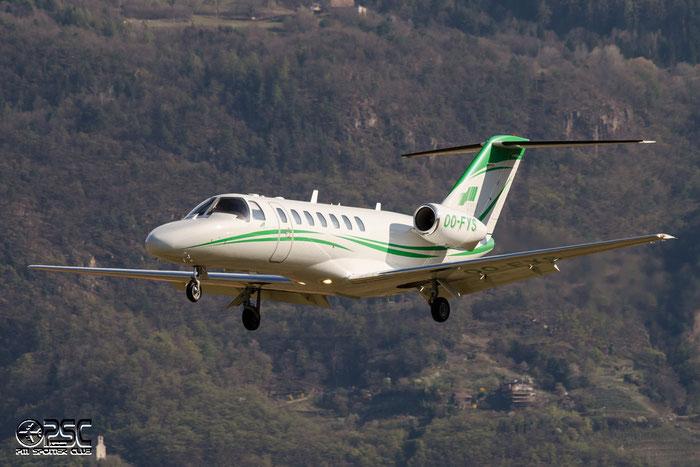 OO-FYS Ce525B 525B-0197 Sky Service NV @ Aeroporto di Bolzano © Piti Spotter Club Verona