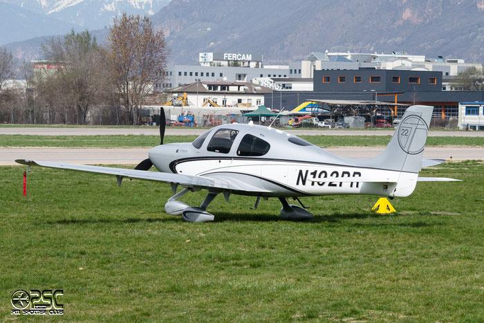 N192PR Cirrus Design Corp SR-22T SR22 0478 Aircraft Guaranty Corp Trustee, TX @ Aeroporto di Bolzano © Piti Spotter Club Verona