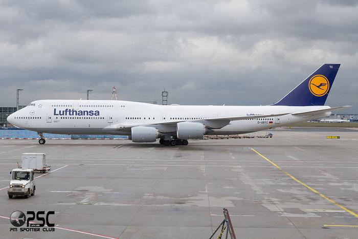D-ABYC B747-830 37828/1451 Lufthansa @ Frankfurt Airport  22.10.2014 © Piti Spotter Club Verona