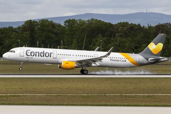 D-AIAF A321-211 6459 Condor Flugdienst @ Frankfurt Airport 08.05.2015 © Piti Spotter Club Verona