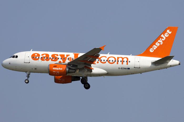 G-EZAM A319-111 2037 EasyJet Airline @ Venezia Airport 05.06.2015 © Piti Spotter Club Verona