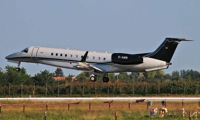 D-AWIN ERJ135BJ 14501231 Air Hamburg Private Jets @ Aeroporto di Verona 30.09.2018  © Piti Spotter Club Verona