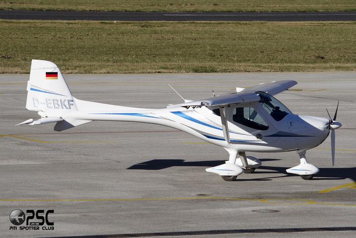 D-EBKF Remos GX GX 405 L1P 3D0855 LSV Kaufbeuren @ Aeroporto di Trento © Piti Spotter Club Verona