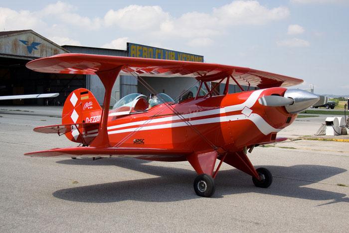D-EZZO Pitts S-2 Special PTS2 @ Aeroporto Verona Boscomantico © Piti Spotter Club Verona