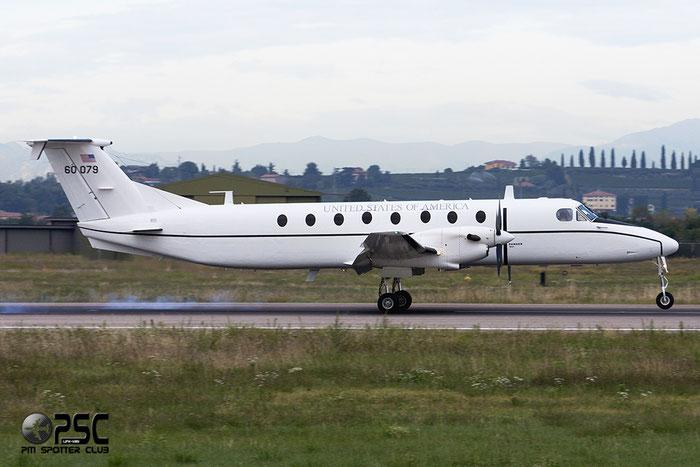 United States - US Air Force (USAF) - Beech 1900C - 60079 » 86-0079 @ Aeroporto di Verona © Piti Spotter Club Verona