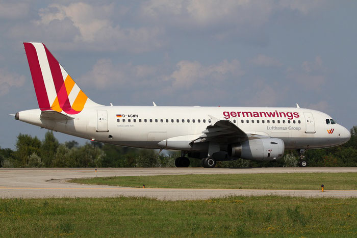 D-AGWN A319-132 3841 Germanwings @ Bologna Airport 24.08.2014 © Piti Spotter Club Verona