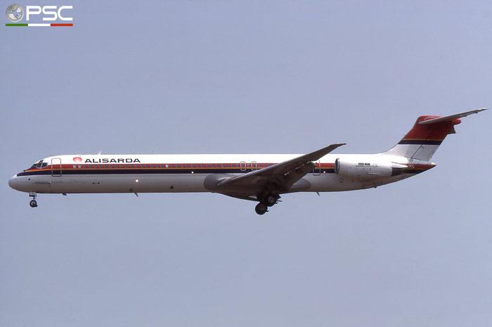 HB-IKL  MD-82  49248/1152  Alisarda - Linee Aeree della Sardegna  @ Aeroporto di Verona © Piti Spotter Club Verona
