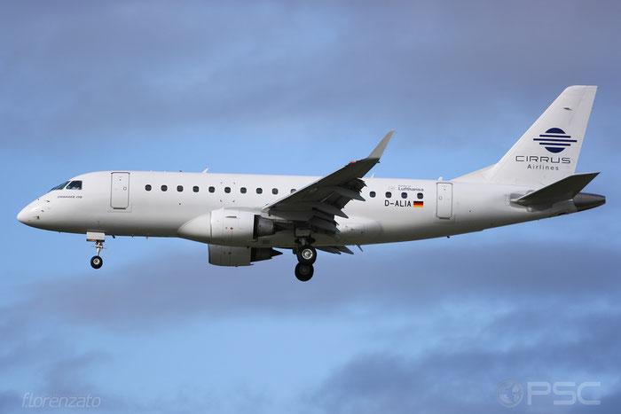 D-ALIA ERJ170LR 17000006 Cirrus Airlines @ Frankfurt Airport 2009 © Piti Spotter Club Verona