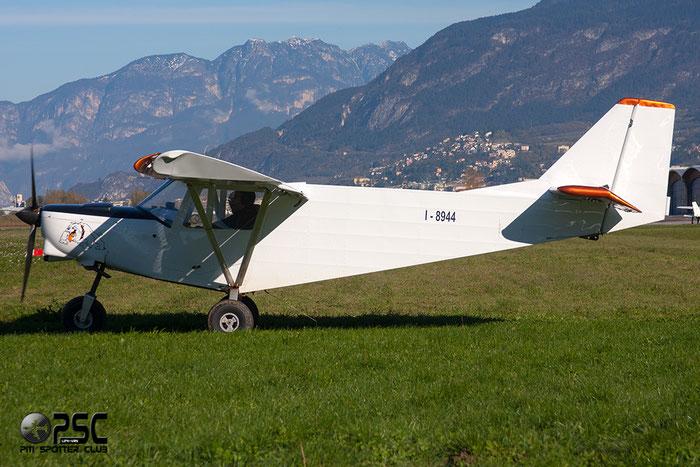 I-8944 - ICP Savannah - Private @ Aeroporto di Trento © Piti Spotter Club Verona