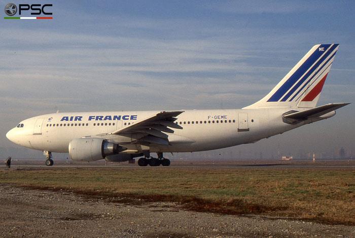 F-GEME A310-203 369 Air France © 2018 courtesy of Marco Ceschi - Piti Spotter Club Verona