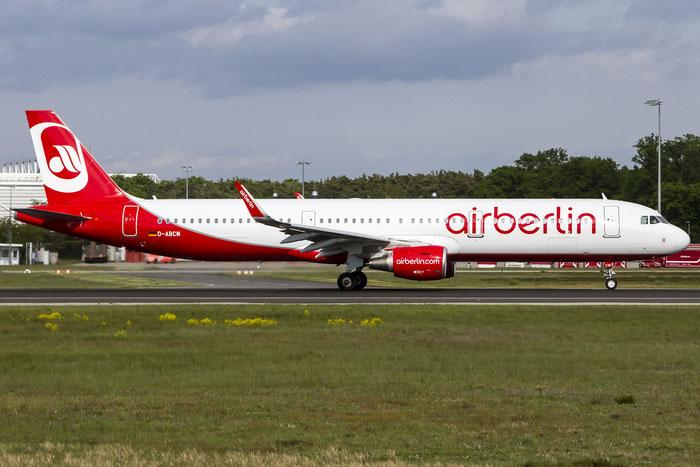D-ABCM A321-211 6432 Air Berlin @ Frankfurt Airport 08.05.2015 © Piti Spotter Club Verona
