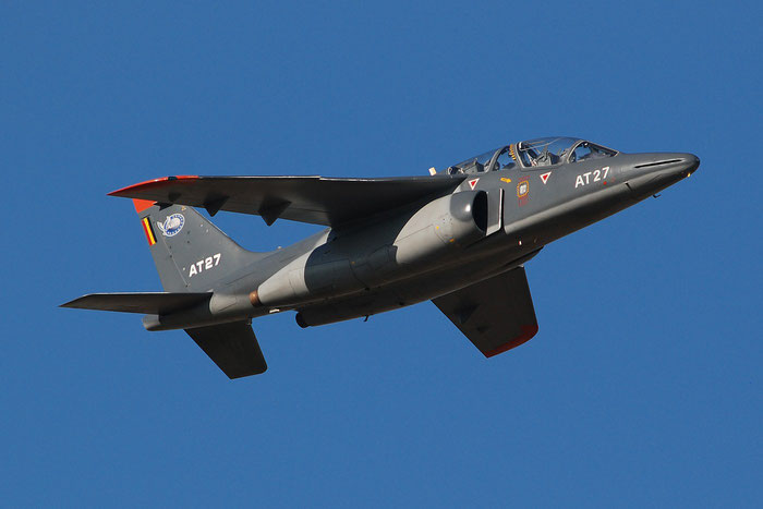 AT27   Alpha Jet 1B+  B27/1125  Beauvechain © Piti Spotter Club Verona