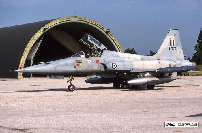 97174   F-5A  N6491 © Piti Spotter Club Verona