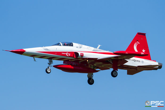 3 - Turkish Star - NF-5A Freedom Fighter © Piti Spotter Club Verona