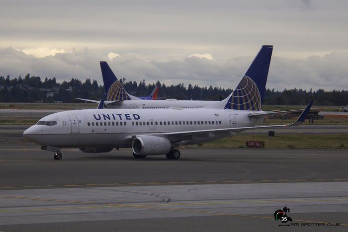 N27724 B737-724 28791/283 United Airlines @ Seattle Tacoma Airport 25.09.2015 © Piti Spotter Club Verona