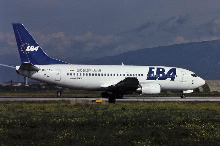 OO-LTM B737-3M8 25070/2037 EBA - Eurobelgian Airlines @ Aeroporto di Verona © Piti Spotter Club Verona