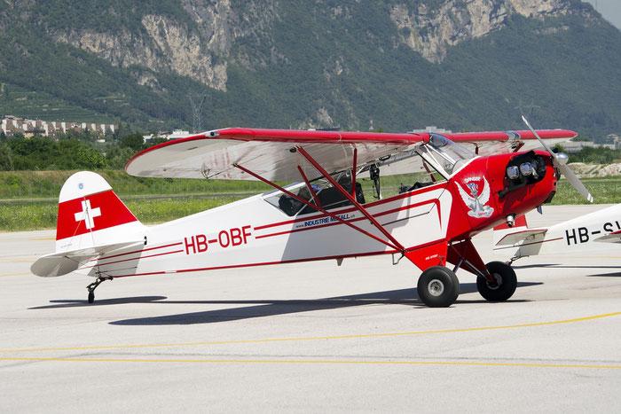 HB-OBF J3 @ Aeroporto di Trento © Piti Spotter Club Verona