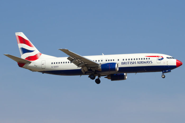 G-DOCX B737-436 25857/2451 British Airways @ Bologna Airport 10.10.2011 © Piti Spotter Club Verona
