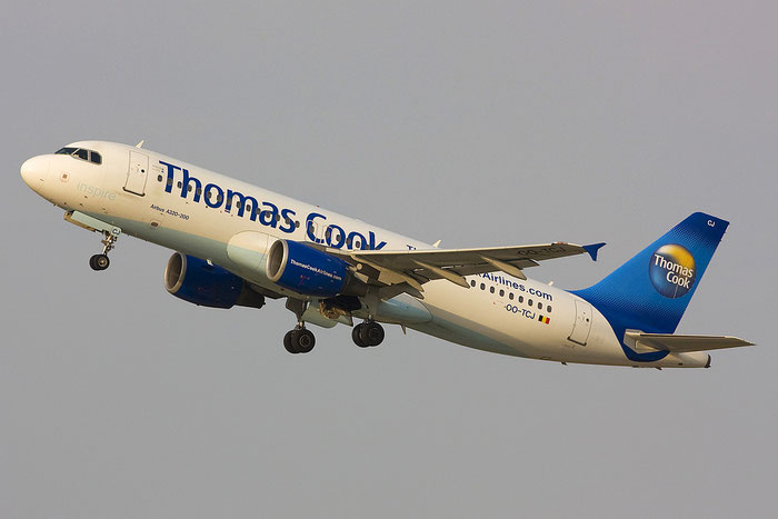 OO-TCJ A320-214 1787 Thomas Cook Airlines Belgium @ Rimini Airport 24.07.2012 © Piti Spotter Club Veron