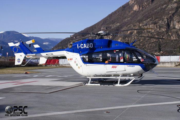 I-CABO I-CABO)   Eurocopter EC145 @ Aeroporto di Bolzano © Piti Spotter Club Verona