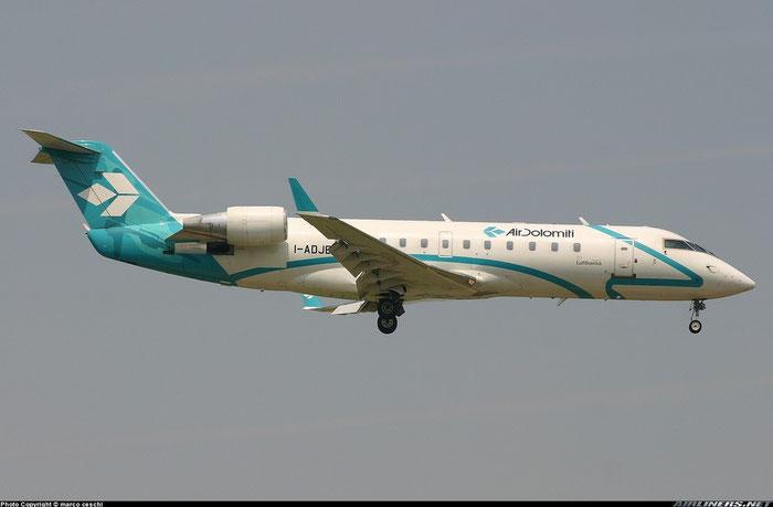 I-ADJB  CRJ200LR  7486  Air Dolomiti  @ Aeroporto di Verona © Piti Spotter Club Verona